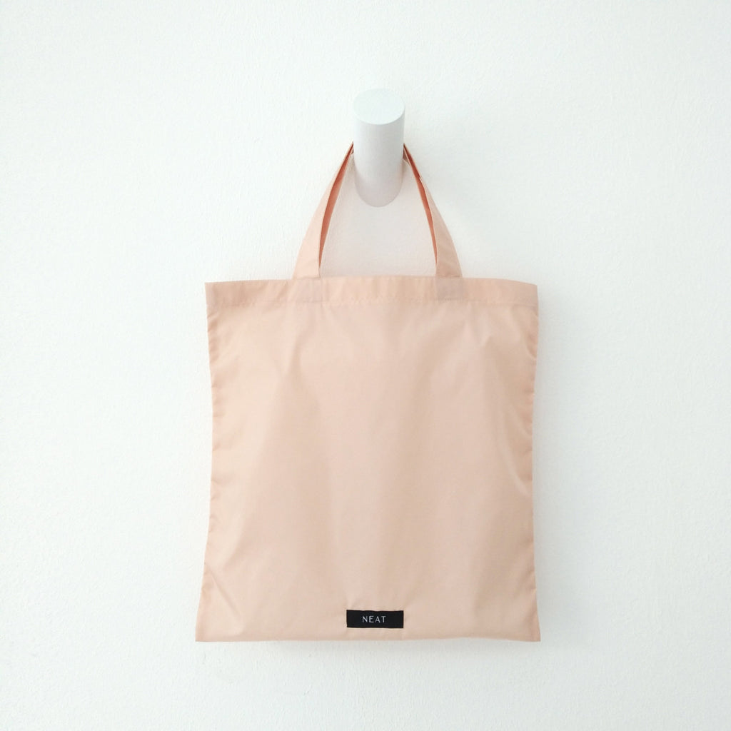 Mini Shopping Bag - peach