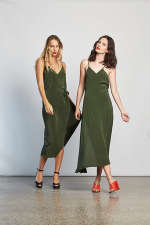 Summertime Dress (Khaki) (Rent by ROUCHE)