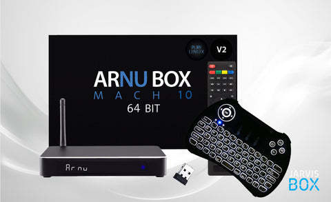 New ARNU Mach 10 64Bit V2 Pure Linux Bundle