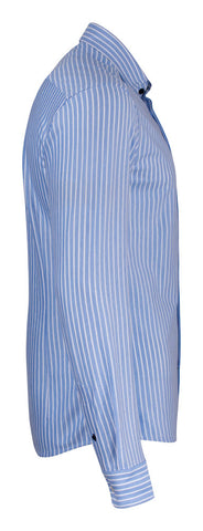 J.H&F Indigo Bow 34 Blue stripe