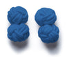 Knot-on-bar Cufflink - 532 blue