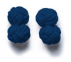 Knot-on-bar Cufflink - 600 navy