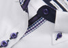 Purple bow 40 Woman - 106 White