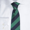 Regimental stripe - 607 Navy/green