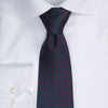 Dotted Tie - 604 navy/red