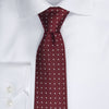 Dotted Tie - 301 Wine/White