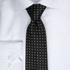 Dotted Tie - 901 black/white