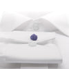 Knot-on-bar Cufflink - 810 l purple