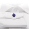 Knot-on-bar Cufflink - 800 purple