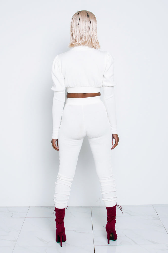 IVORY AXEL POCKET JOGGERS
