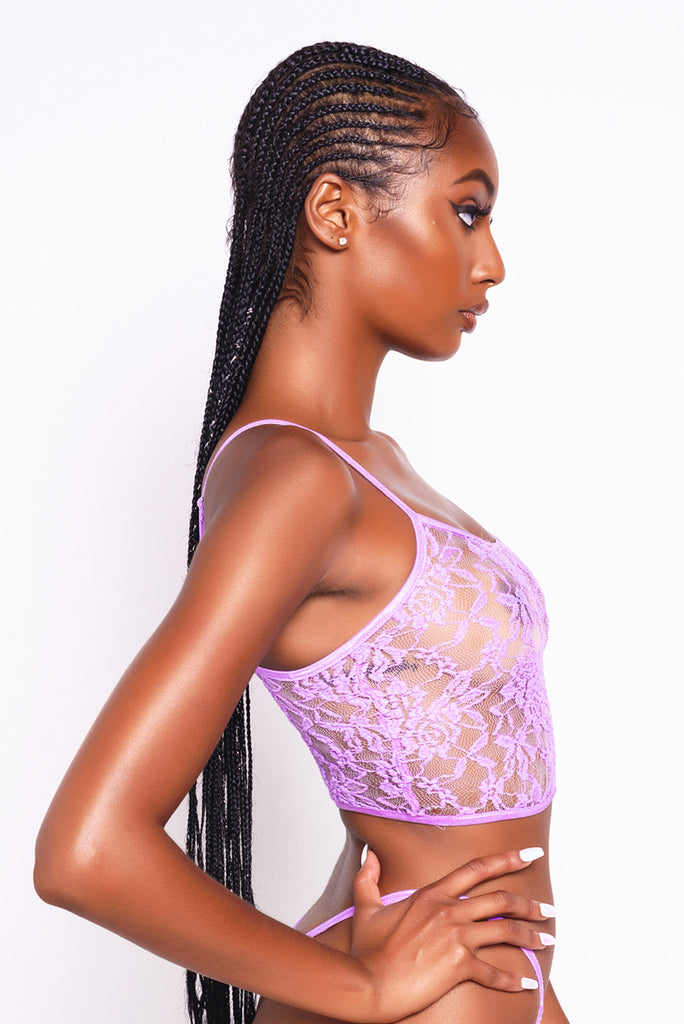 Lilac Lacey Cami Top