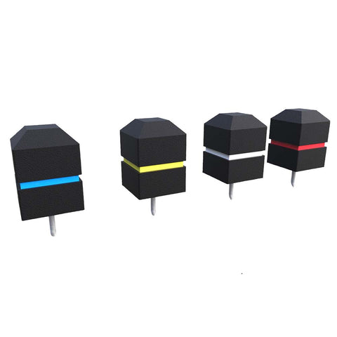 Square Tee Markers