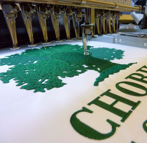 Putting Size Embroidered Flags