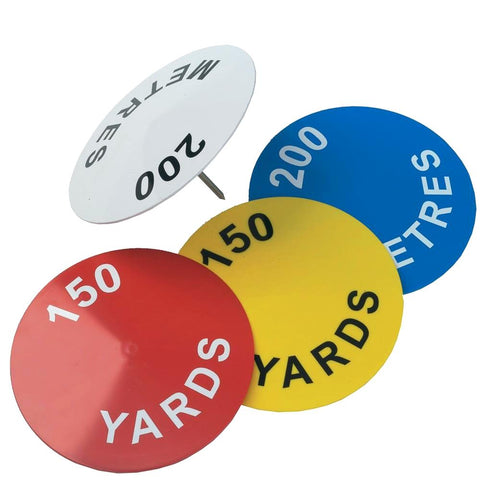 Domed Disc Tee Markers