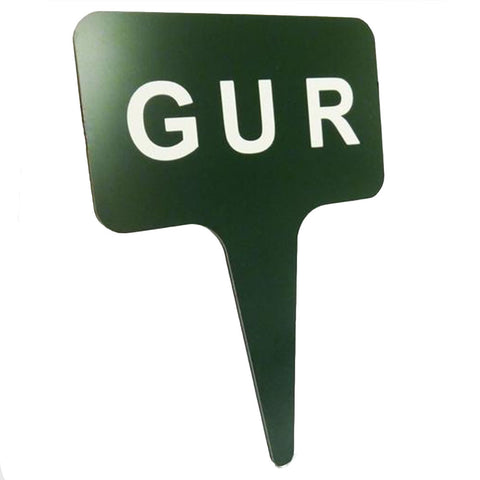 "GUR 5"" x 3"" One-piece Sign"