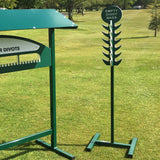 Empty Divot Bag Return Stand