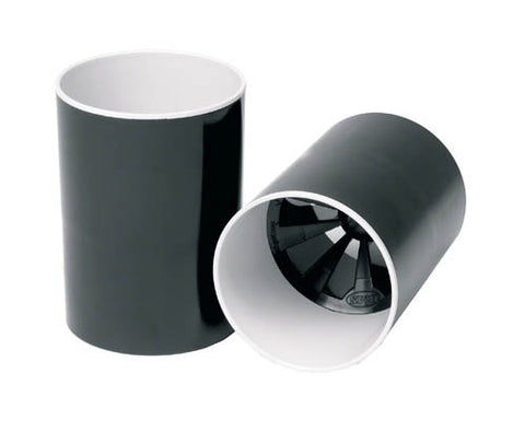 Black Plastic Holecup