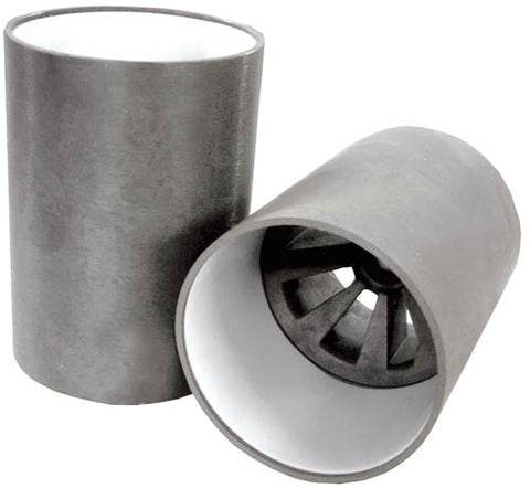 Replacement White Plastic Sleeves for Aluminium Phosphate Holecup