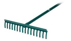 Bunker Rake with Wooden Handle  - Plain Bore