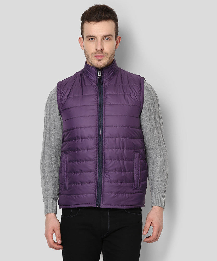 Yepme Julius Sleeveless Jacket - Purple