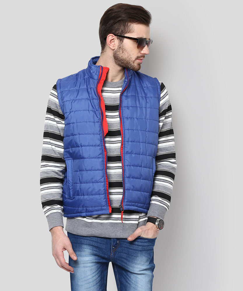 Yepme Julius Sleeveless Jacket - Blue