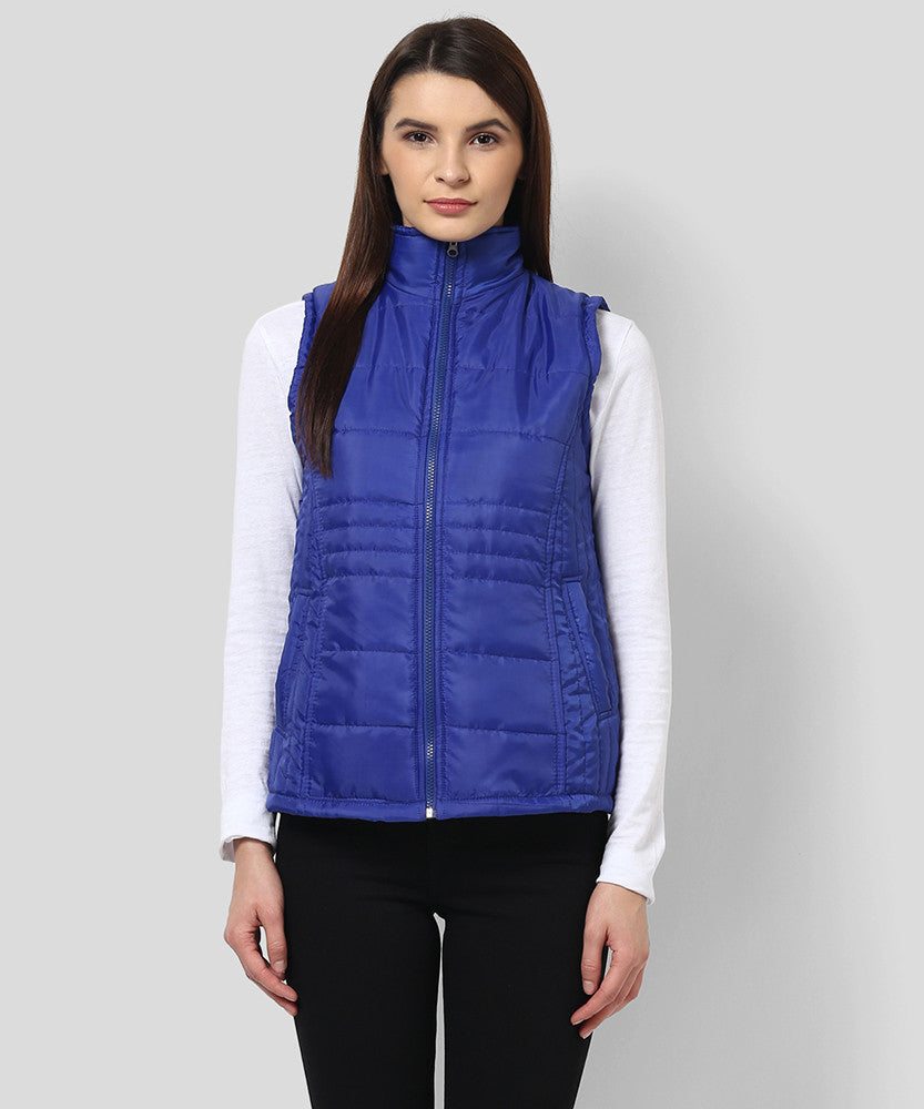 Yepme Sophie Sleeveless Jacket - Blue