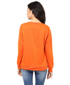 Yepme Carol Sweatshirt - Orange