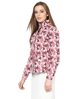 Yepme Ellie Full Sleeves Jacket - Pink
