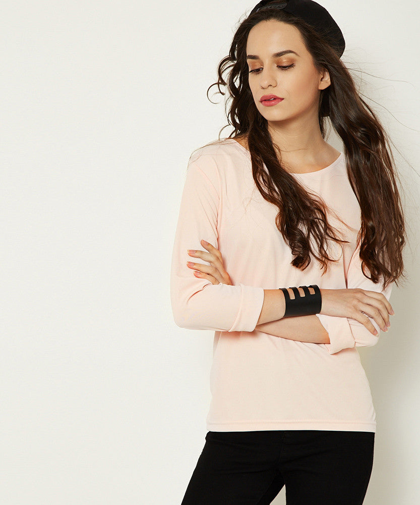 Yepme Rosa Solid Top - Pink