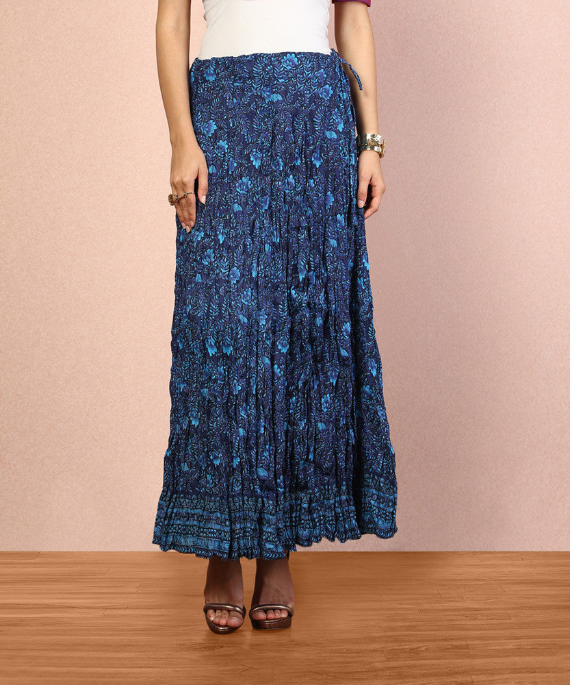 Yepme Stine Long Skirt - Blue