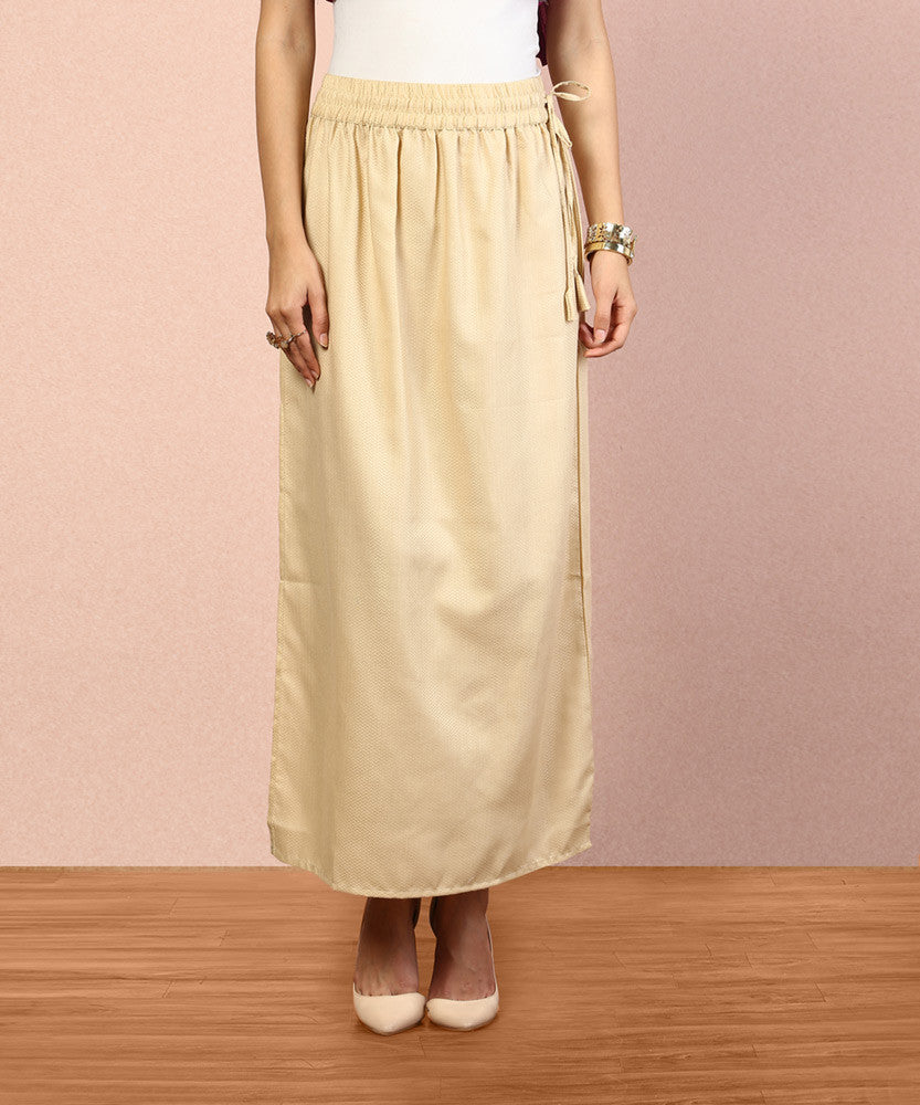 Yepme Jessica Long Skirt - Beige