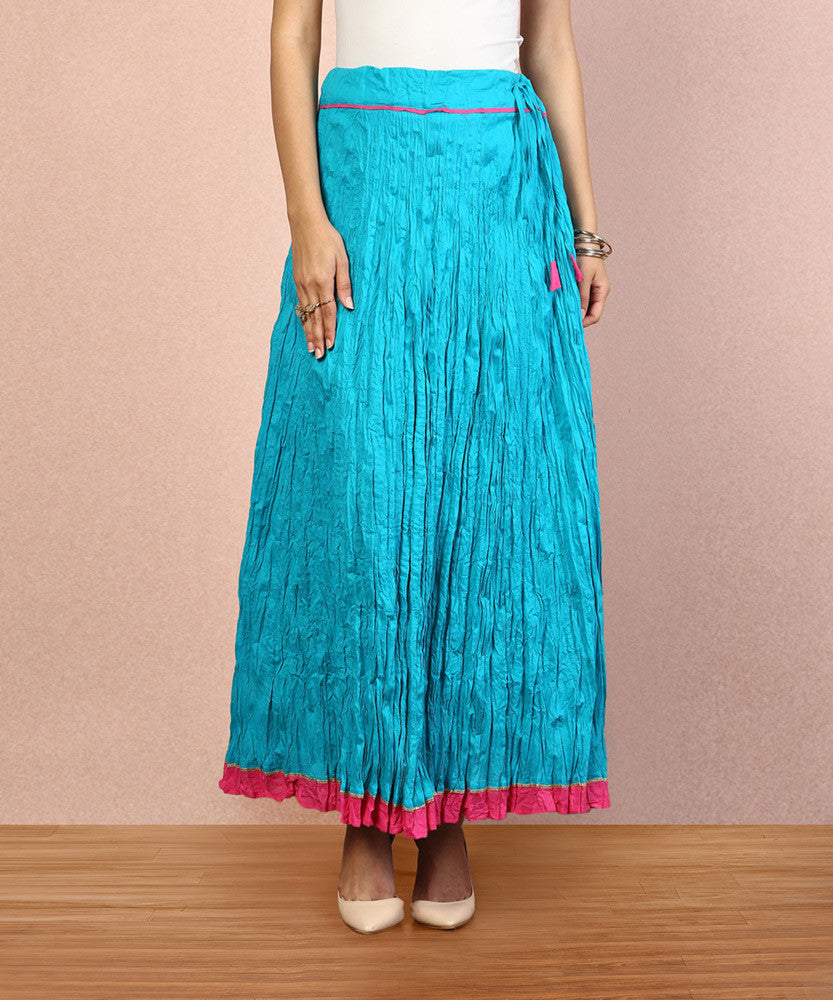 Yepme Rachel Long Skirt -Teal