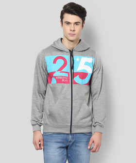 Yepme Hooded Sweatshirt - Grey