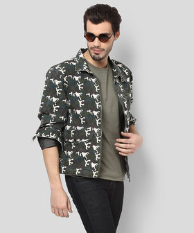 Yepme Edward Full Sleeves Jacket - Green