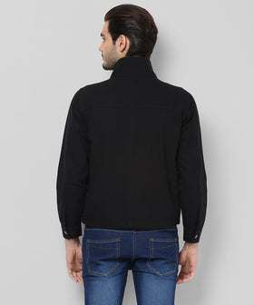 Yepme Edward Full Sleeves Jacket - Black
