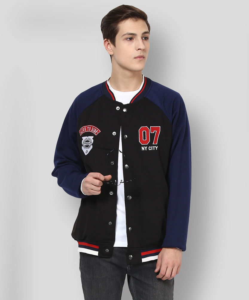 Yepme Toretto Jacket - Black & Blue