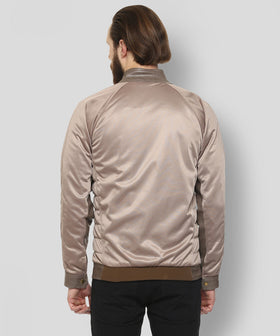 Yepme Mikael PU Leather Jacket - Beige