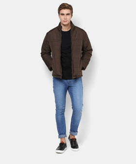 Yepme Maverick Full Sleeves Jacket - Brown