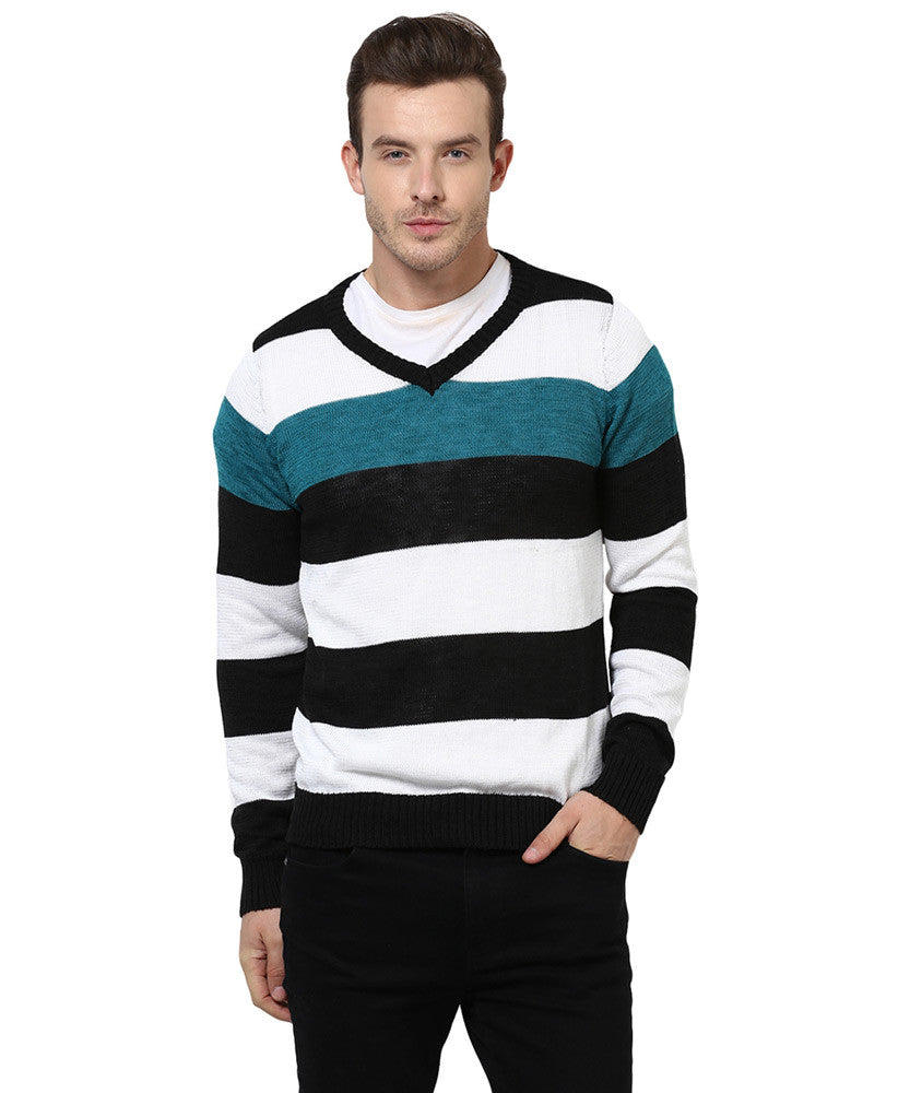 Yepme Dylan Sweater - White & Black