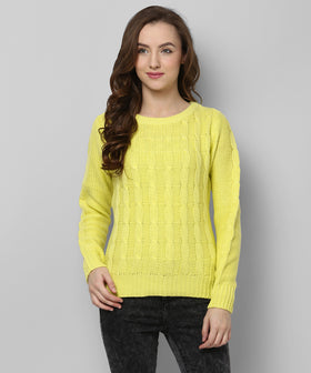 Yepme Zoey Sweater - Yellow