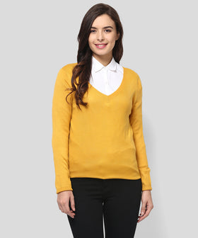 Yepme Gianna Sweater - Mustard