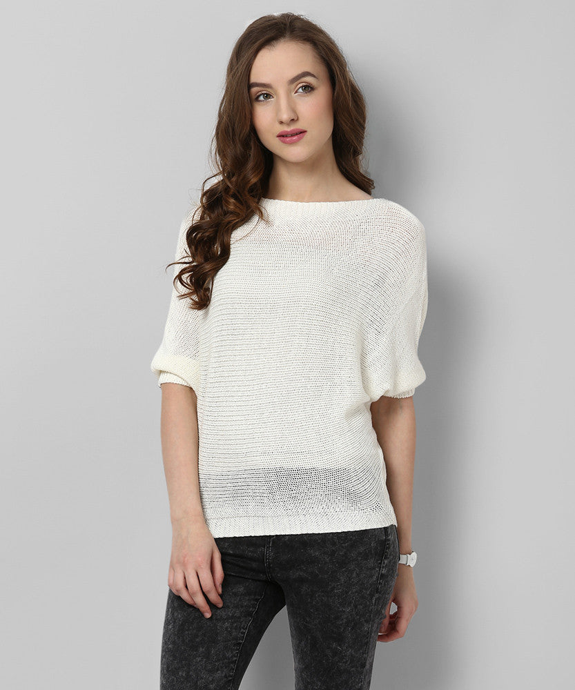 Yepme Brianna Sweater - Off -White