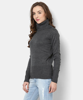 Yepme Sylvia Sweater - Grey