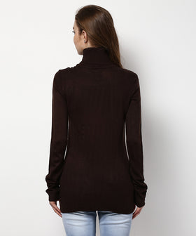 Yepme Julia Sweater - Brown