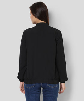 Yepme Katey Full Sleeves Jacket - Black