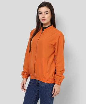 Yepme Katey Full Sleeves Jacket - Rust
