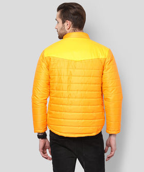 Yepme Erik Full Sleeves Jacket - Orange & Yellow