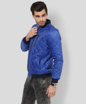 Yepme Savio Full Sleeve Bomber Jacket-Navy Blue