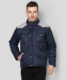 Yepme Garett Full Sleeves Jacket - Blue