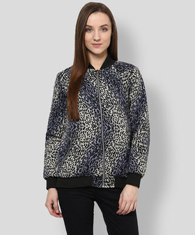 Yepme Martina Full Sleeves Reversible Jacket - Black & Grey
